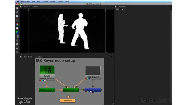 Setting up the IBK Color node: Nuke 5 Essential Training