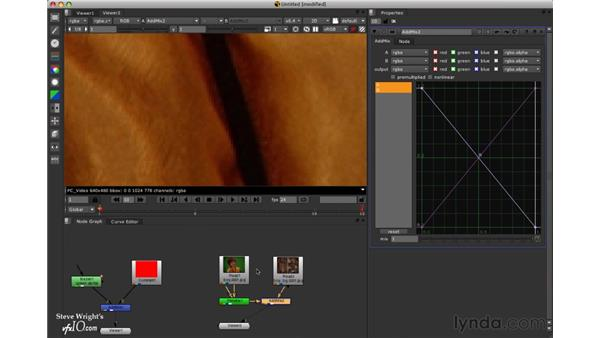 Compositing with the Addmix node: Nuke 5 Essential Training