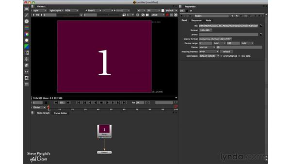 Upgrades to the Read node in Nuke 5.2: Nuke 5 Essential Training