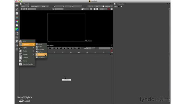 Overview of the 3D tools: Nuke 5 Essential Training