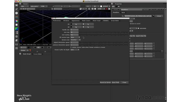 Navigating the 3D viewer: Nuke 5 Essential Training