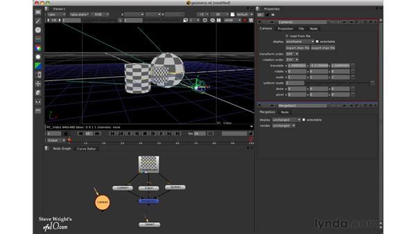 Adding a 3D camera: Nuke 5 Essential Training