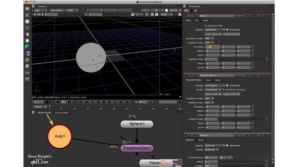 Transforming geometry: Nuke 5 Essential Training
