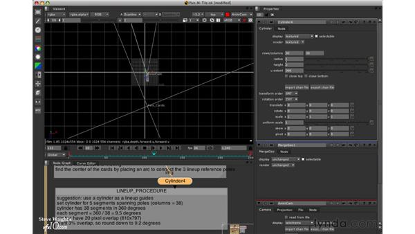 Setting up a reference cylinder: Nuke 5 Essential Training