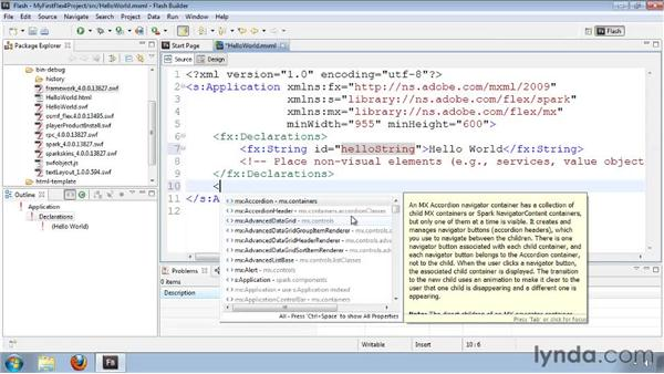 Understanding the new MXML namespaces: Flash Builder 4 and Flex 4 New Features
