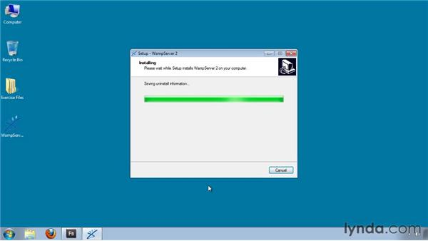 Installing Apache, PHP, and MySQL on Windows: Flash Builder 4 and Flex 4 Essential Training