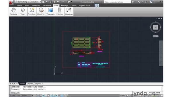 Adapting to the updated Drawing window : AutoCAD 2011 New Features