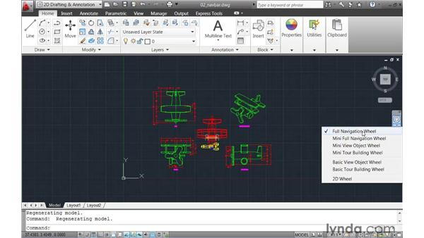 Introducing the Navigation bar: AutoCAD 2011 New Features