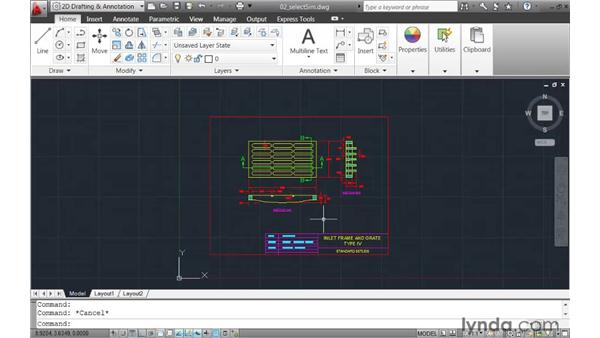 Selecting objects that have similar properties: AutoCAD 2011 New Features