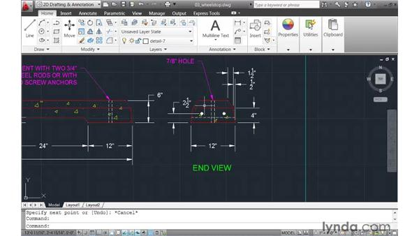 Creating new geometry based on existing objects: AutoCAD 2011 New Features