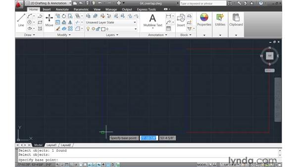 Making selections when entities overlap: AutoCAD 2011 New Features