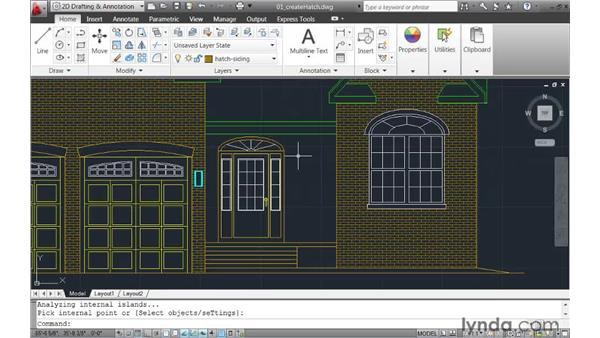 Streamlining hatch creation: AutoCAD 2011 New Features