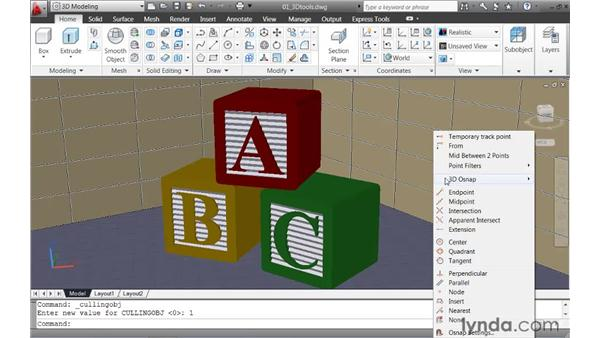 Exploring the updated 3D working environment : AutoCAD 2011 New Features
