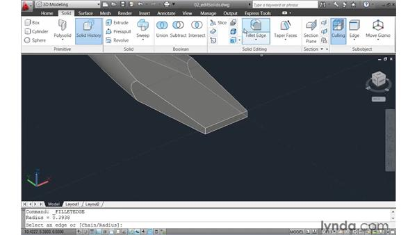 Simplifying the creation and editing of solid models : AutoCAD 2011 New Features
