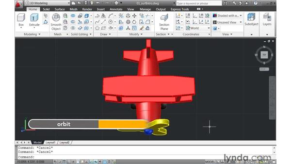 Introducing surfaces: AutoCAD 2011 New Features