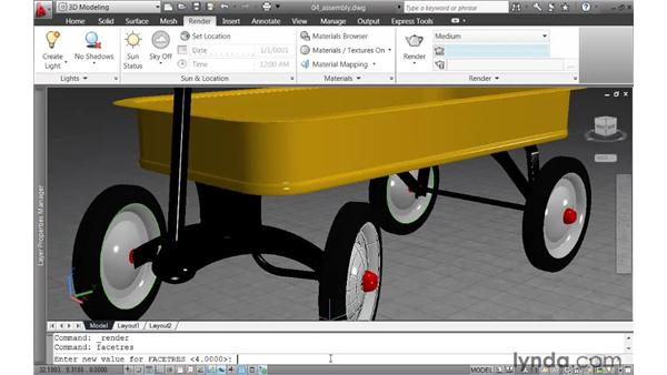 Creating a high-resolution image: AutoCAD 2011 New Features