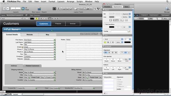 Where to find Inspector: FileMaker Pro 11 New Features
