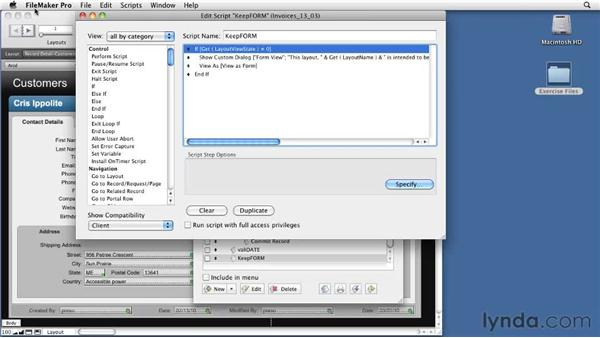Learning about the OnViewChange trigger: FileMaker Pro 11 New Features