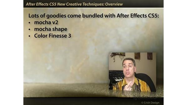 Overview: After Effects CS5 New Creative Techniques