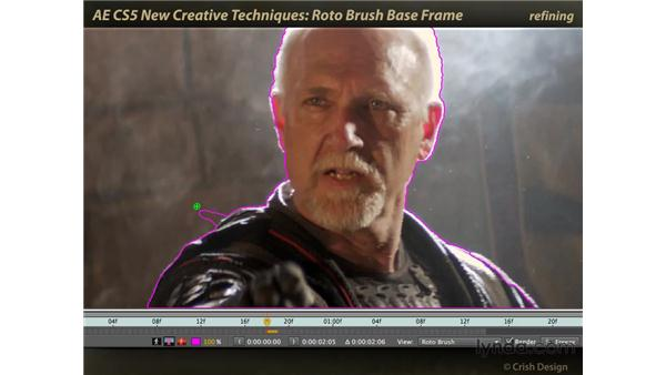 Creating a base frame: After Effects CS5 New Creative Techniques