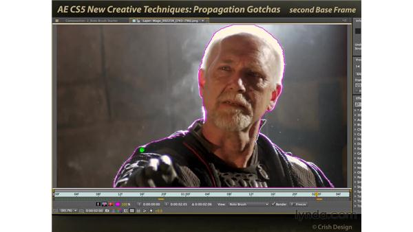 Propagation gotchas: After Effects CS5 New Creative Techniques