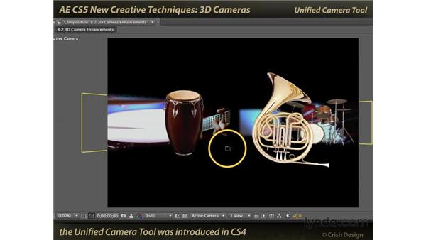 3D camera enhancements: After Effects CS5 New Creative Techniques