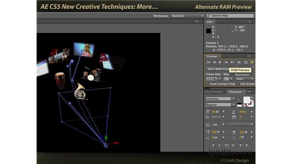 A few more features: After Effects CS5 New Creative Techniques