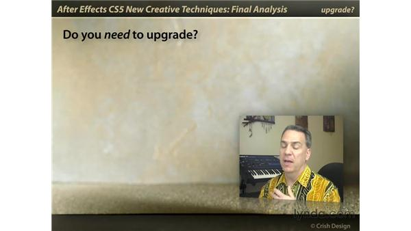 Final analysis: After Effects CS5 New Creative Techniques