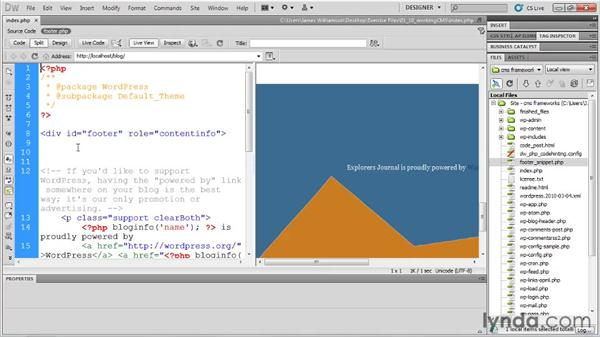 Working with CMS frameworks: Dreamweaver CS5 New Features