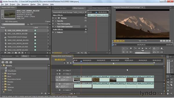 Importing RED R3D files from Premiere Pro using Dynamic Link: Encore CS5 New Features