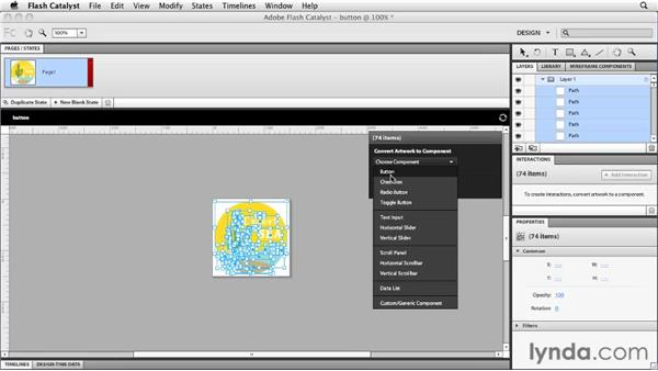 Integrating with Flash Catalyst : Flash Professional CS5 New Features