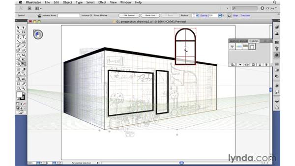 Mapping flat artwork to perspective grids: Illustrator CS5 New Features