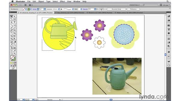 Drawing Behind and Draw Inside Drawing modes: Illustrator CS5 New Features