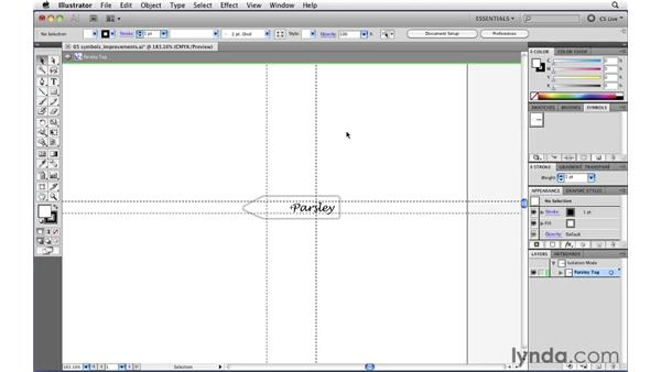 Using 9-slice scaling options with symbols: Illustrator CS5 New Features