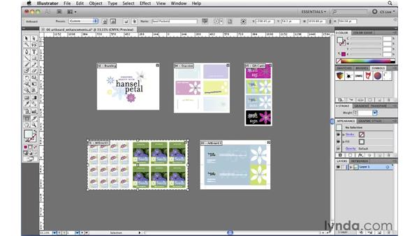 Using the new Artboards panel: Illustrator CS5 New Features