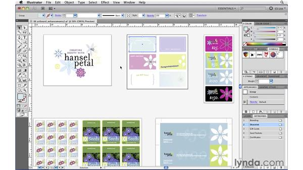 Setting individual artboard rulers: Illustrator CS5 New Features