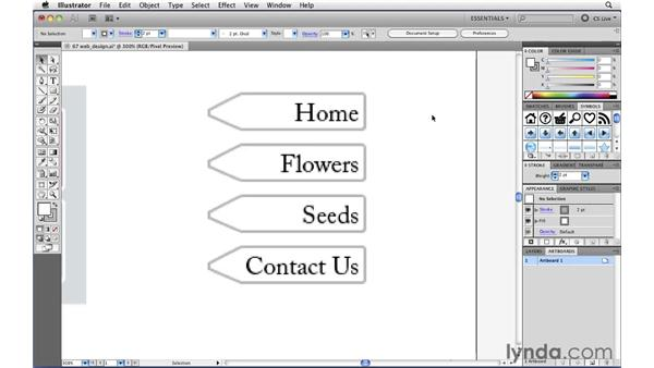 Creating crisp readable text for the web: Illustrator CS5 New Features