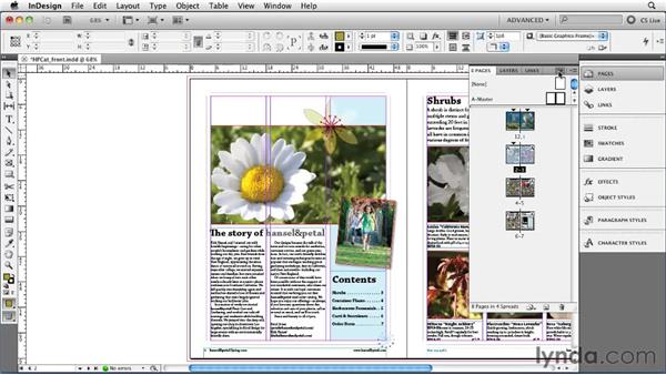 Working with the enhanced Layers panel: InDesign CS5 New Features