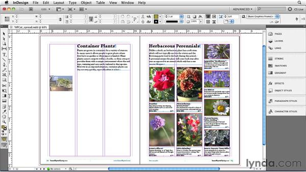 Using the Gridify technique: InDesign CS5 New Features