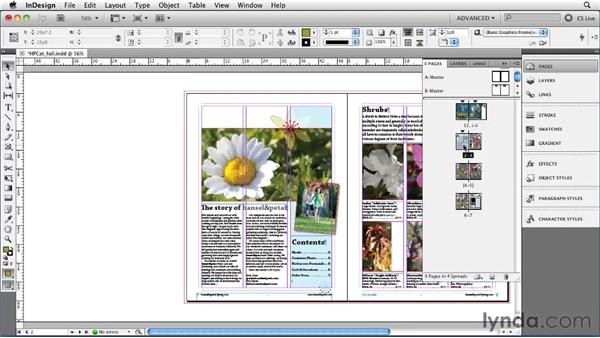 Mixing page sizes with the new Page tool: InDesign CS5 New Features