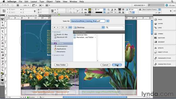 Using multithreading for faster PDF exports: InDesign CS5 New Features