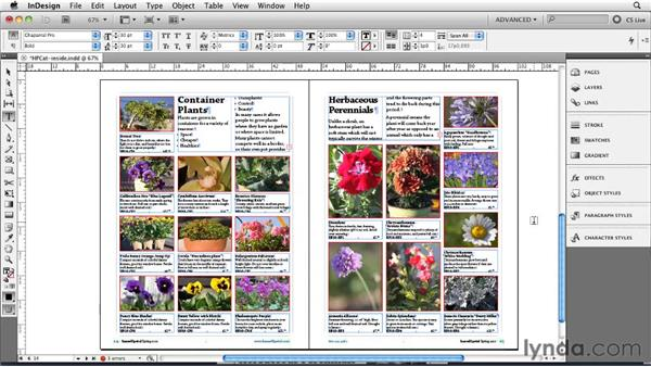 Spanning and splitting columns: InDesign CS5 New Features