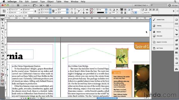 Creating and editing motion presets: InDesign CS5 New Features