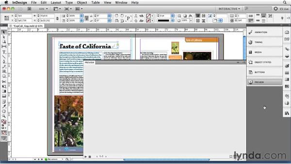 Managing multiple animations with the Timing panel: InDesign CS5 New Features