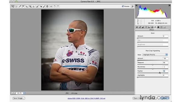 Using Post-Crop Vignetting: Photoshop and Bridge CS5 for Photographers New Features
