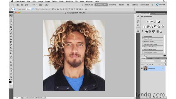 Creating a custom workspace: Photoshop and Bridge CS5 for Photographers New Features