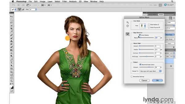 Removing a model from a background: Photoshop and Bridge CS5 for Photographers New Features