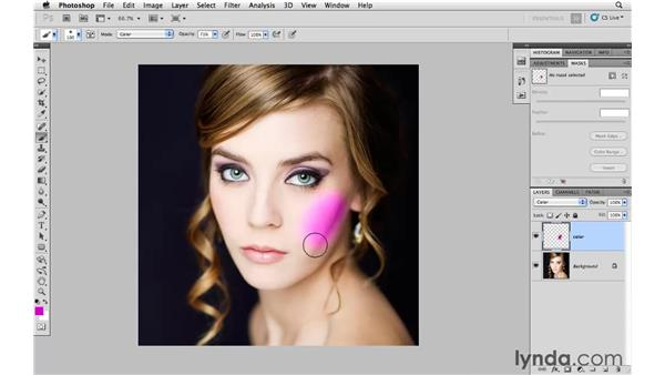 Working with the new HUD color picker: Photoshop and Bridge CS5 for Photographers New Features