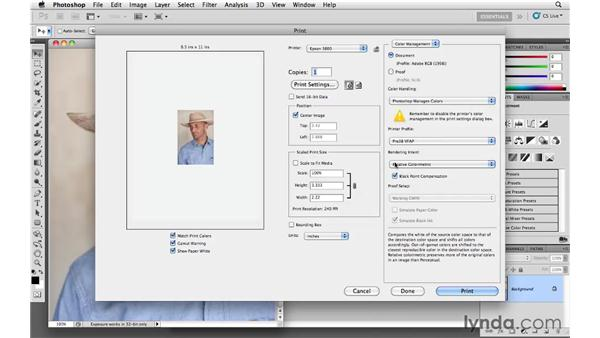 New printing settings: Photoshop and Bridge CS5 for Photographers New Features