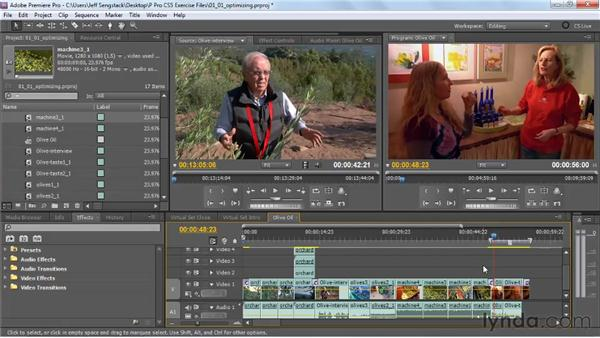 Optimizing your system for the new Mercury Playback Engine: Premiere Pro CS5 New Features